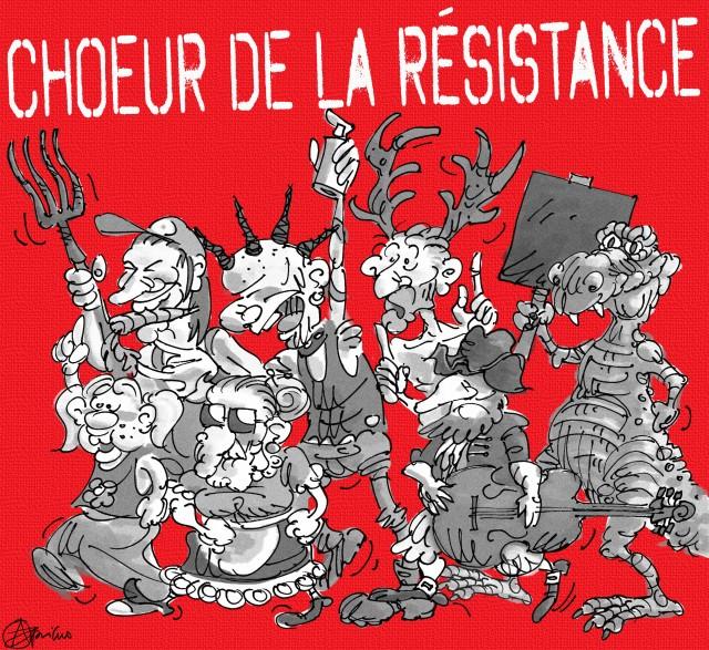 Chœur de la resistance