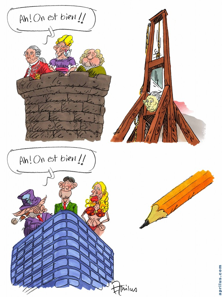 guillotine aprilus